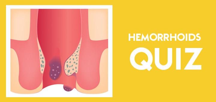 Hemorrhoids-Quiz